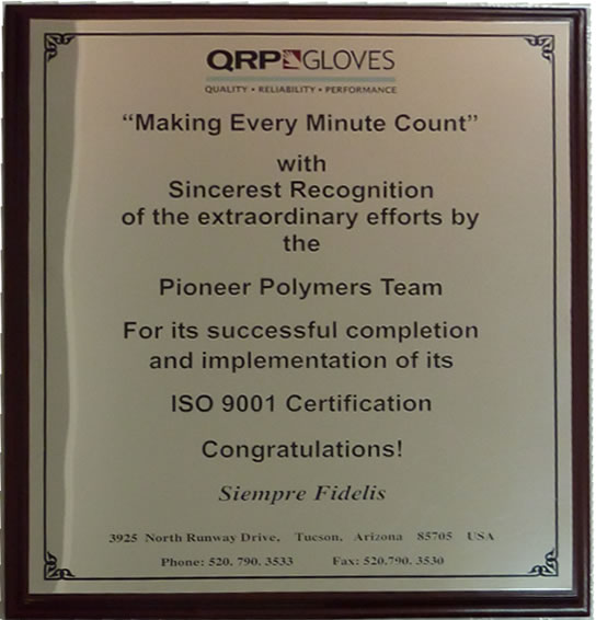 Customer Recognition for Polymer Plastics